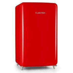 frigorifico smeg retro rojo años 50
