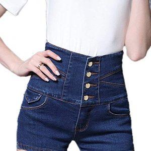 Pantalones cortos de mujer pin up