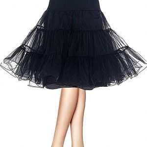 black CanCan for Skirts