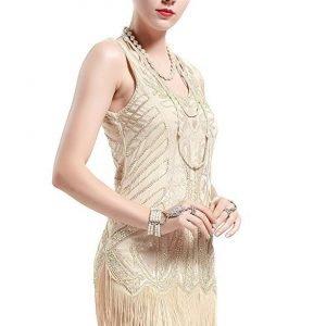 Flapper dress for cocktails
