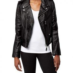 women's leather jacket for Rockabilly looks