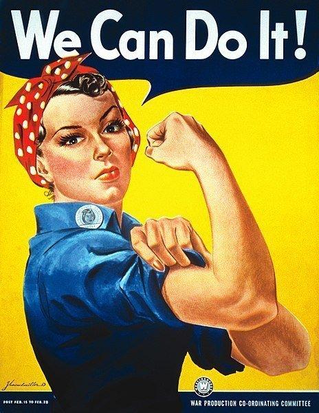 Cartel feminista J. Howard Miller