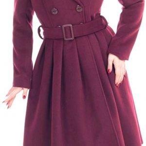 Abrigo de mujer 3/4 estilo vintage