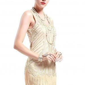 Vestidos de cóctel vintage o flapper